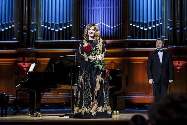 Екатерина Семенчук - концерт в Большом зале Московской консерватории