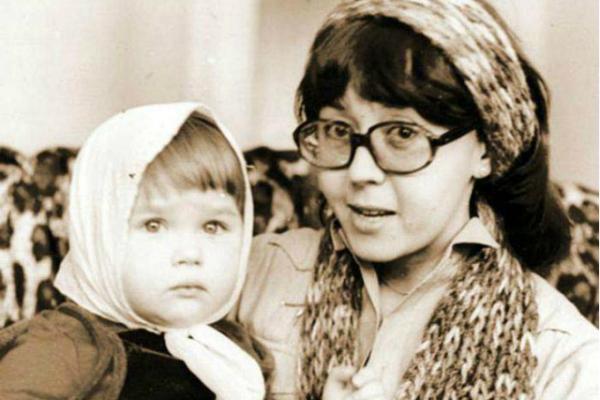 Ядвига Поплавская и дочь Анастасия