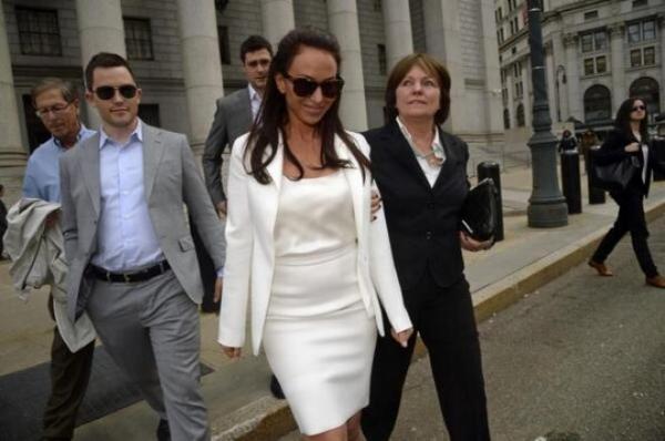 На фото: Молли Блум во время суда