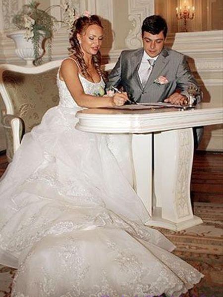 Алла Довлатова и Алексей Борода - свадьба