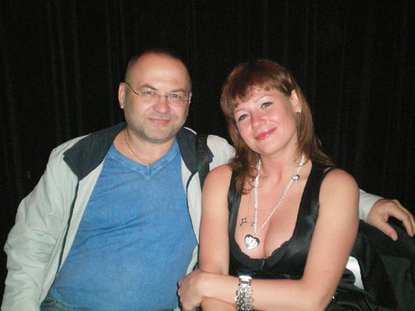 Диана Теркулова и её продюсер