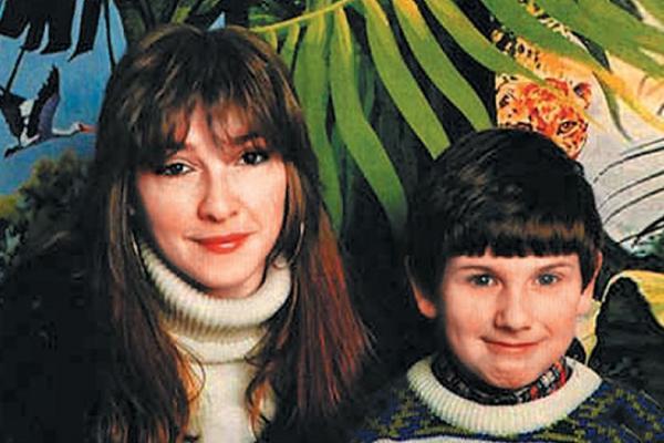 Екатерина Семенова с сыном Иваном