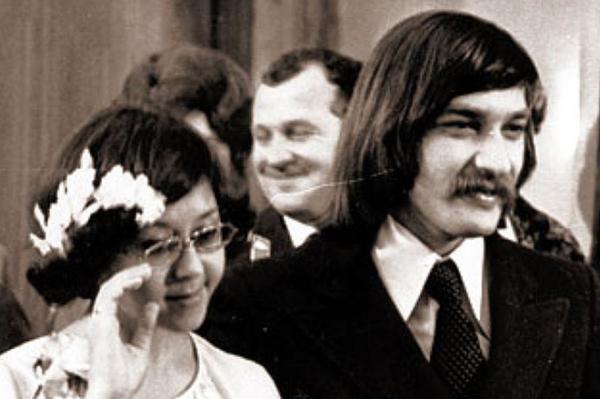 Свадьба Ядвиги Поплавской и Александра Тихановича