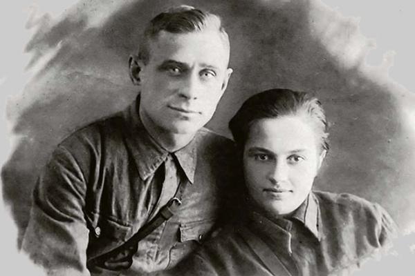 На фото: Людмила Павличенко с Алексеем Киценко