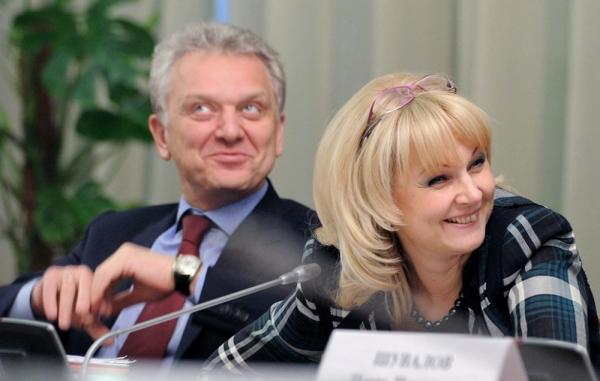 Татьяна Голикова и ее второй муж Виктор Христенко